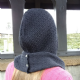 Supersoft Merino Rib And Cable Hood